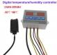 Цифровой регулятор температуры и влажности ZFX-ST3022 с датчиком, -20°C +80°C, влажность 0-99%RH, 220В два реле 10A