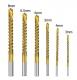 Сверла кобальтовые спиральные, набор 6 шт, 3мм, 4мм, 5мм, 6мм, 6.5мм, 8мм