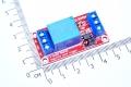 Модуль реле 1-канальный для Arduino с оптронной изоляцией, 12 вольт (hight and low level trigger, реле SONGLE/аналог.)