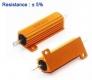 Резистор выводной, 10 Ом 50W 50Вт, алюминиевый корпус