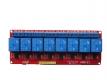Модуль реле 8-канальный для Arduino (с оптронной изоляцией 5V)