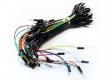 Breadboard jumper cable pack (соединительный кабель для макетной платы без пайки) компл. 65 шт